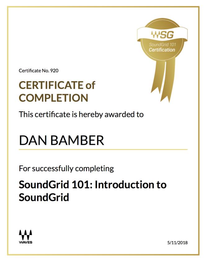 SoundGrid 101