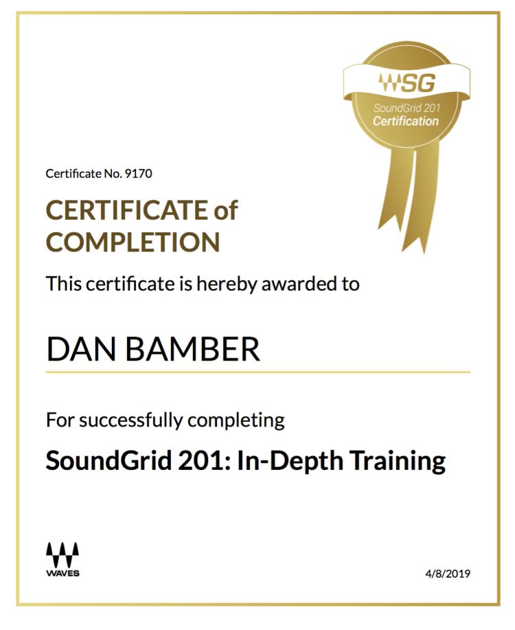 SoundGrid 201